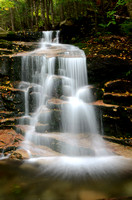 Stair Falls Franconia Notch New Hampshire